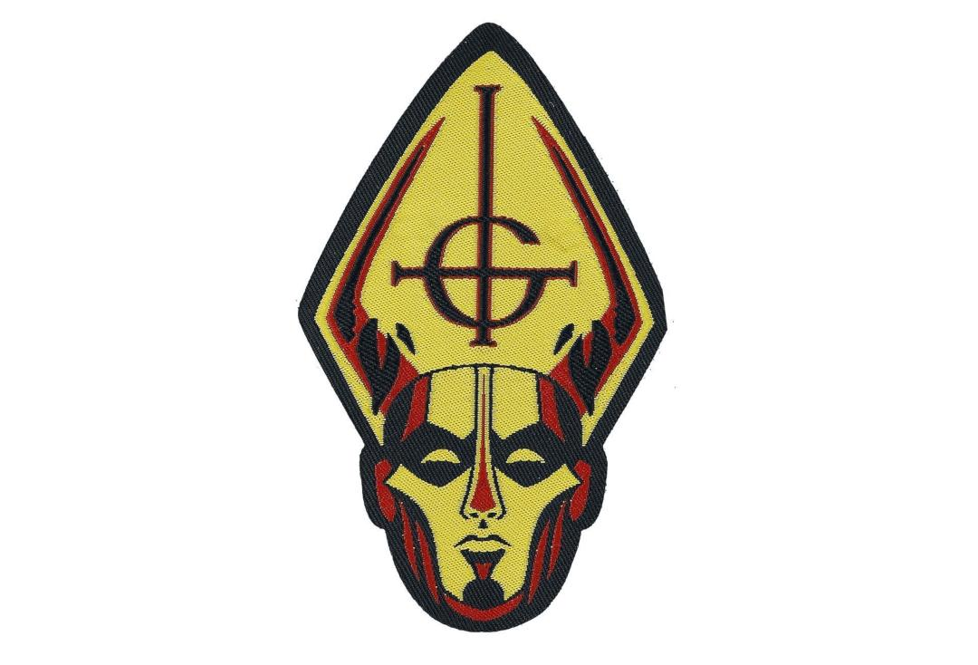 Official Band Merch | Ghost - Papa Head Woven Patch