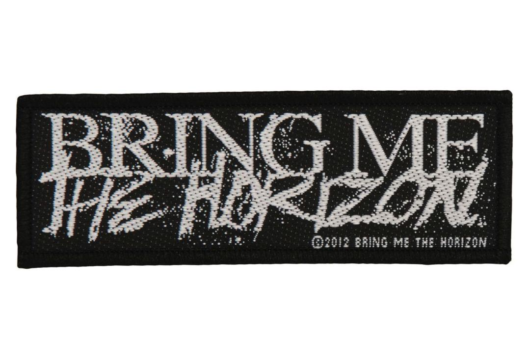 Official Band Merch | Bring Me The Horizon - Logo Woven Patch