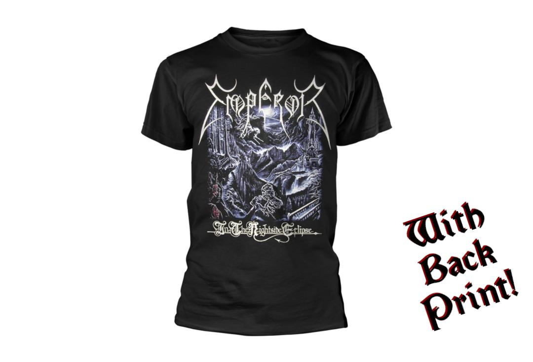 Official Band Merch | Emperor - In The Nightside Eclipse Men's Short Sleeve T-Shirt - Front View