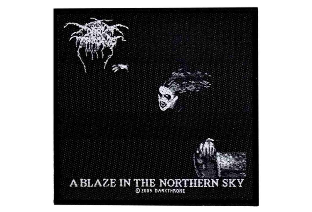 Official Band Merch | Darkthrone - A Blaze In The Northern Sky Woven Patch