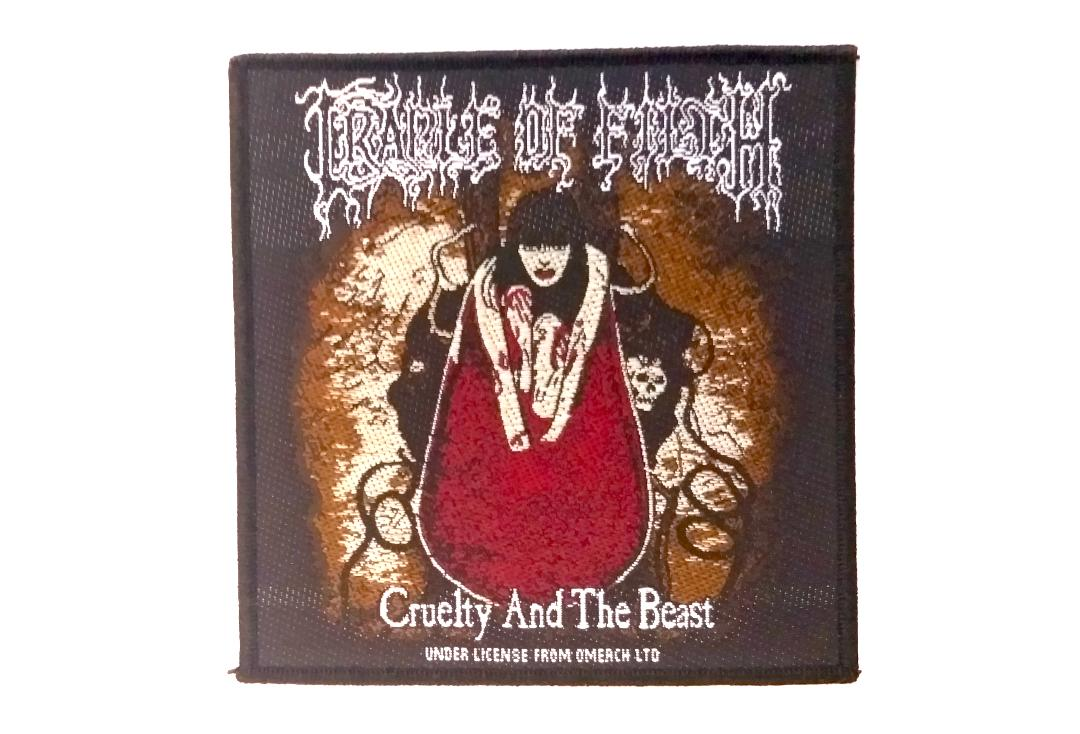 Official Band Merch | Cradle Of Filth - Cruelty And The Beast Woven Patch