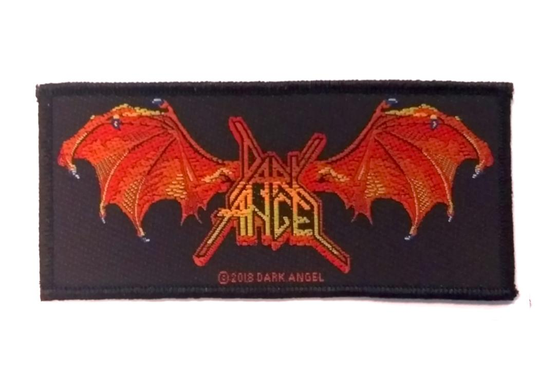 Official Band Merch | Dark Angel - Winged Logo Woven Patch