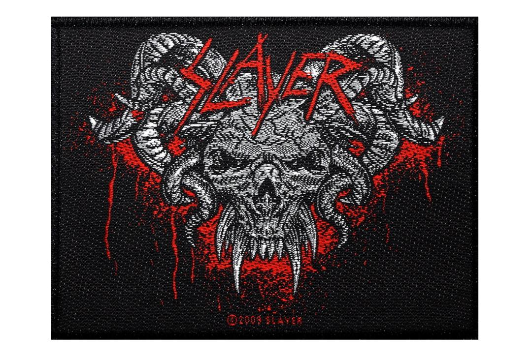 Official Band Merch | Slayer - Demonic Woven Patch