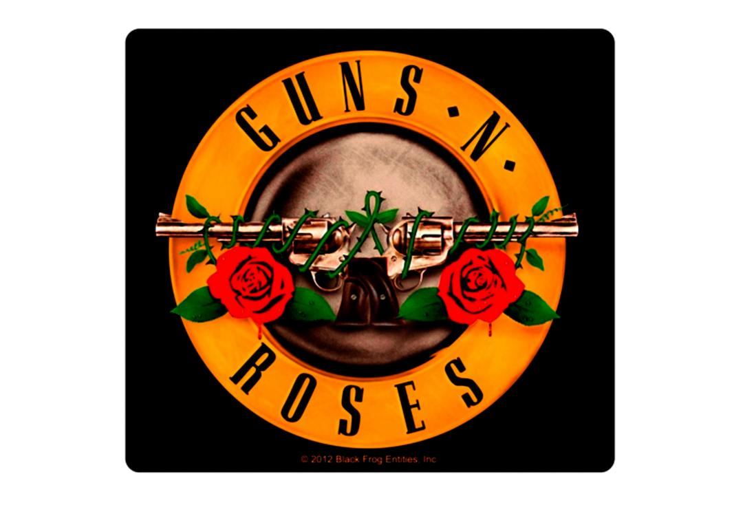 Official Band Merch | Guns 'N' Roses - Logo Vinyl Sticker