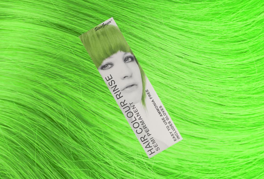 Stargazer | UV Green Semi-Permanent Hair Colour