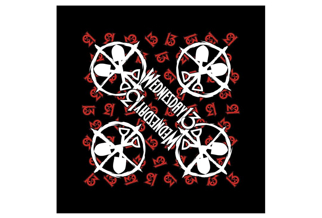 Official Band Merch | Wednesday 13 - Logo Shovels Bandana