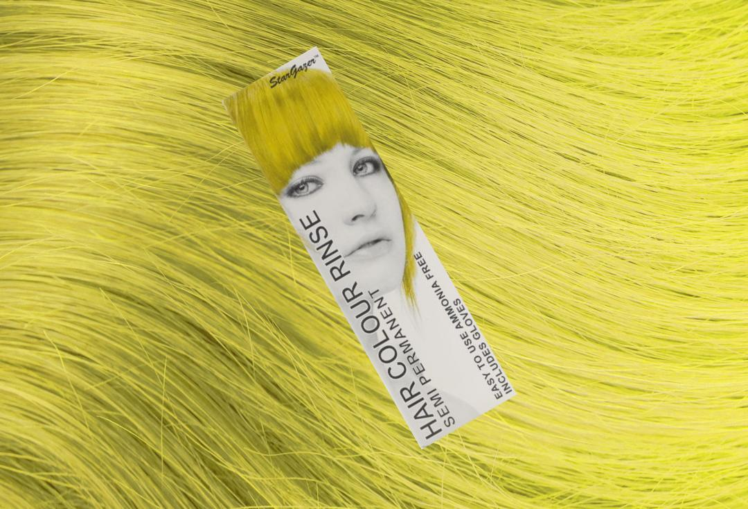 Stargazer | Yellow Semi-Permanent Hair Colour