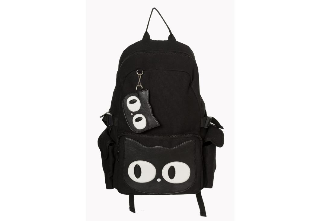 Banned Apparel | Hallie Cat Backpack - Front View