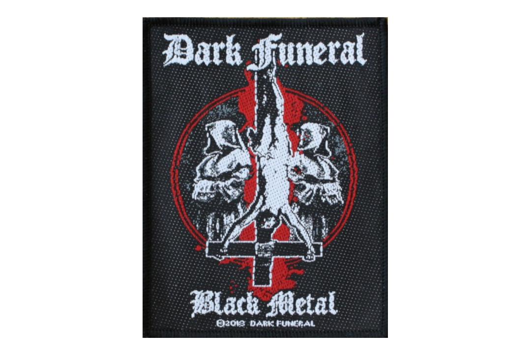 Official Band Merch | Dark Funeral - Black Metal Woven Patch