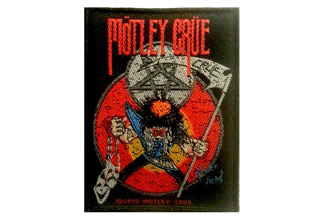 Official Band Merch | Motley Crue - Allister Fiend Woven Patch
