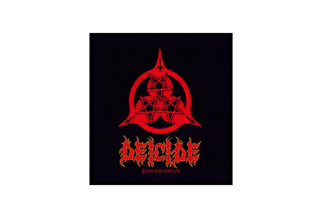 Official Band Merch | Deicide - Once Upon The Cross Woven Patch