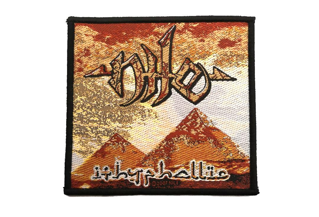 Official Band Merch | Nile - Ithyphallic Woven Patch