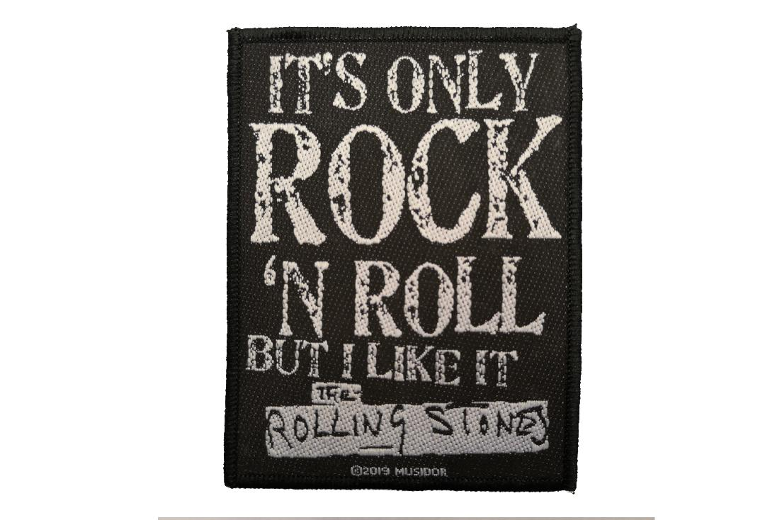 Official Band Merch | The Rolling Stones - It's Only Rock 'N Roll Woven Patch