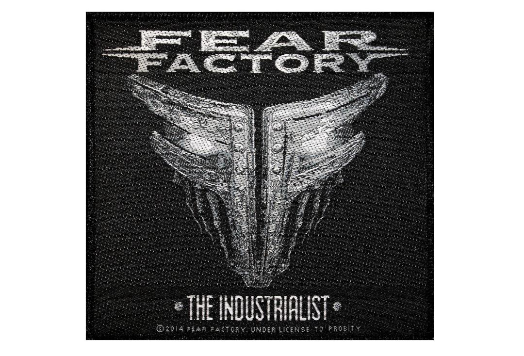 Official Band Merch | Fear Factory - The Industrialist Woven Patch