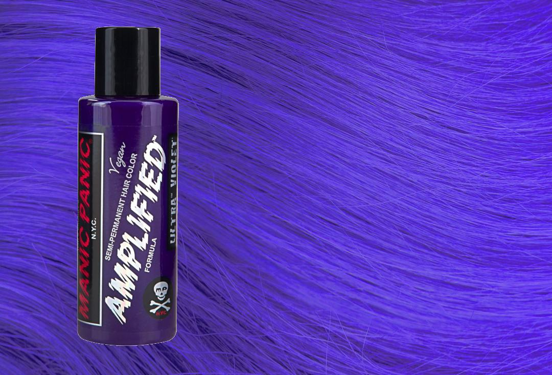 Manic Panic | Ultra Violet Blue Amplified Hair Colour