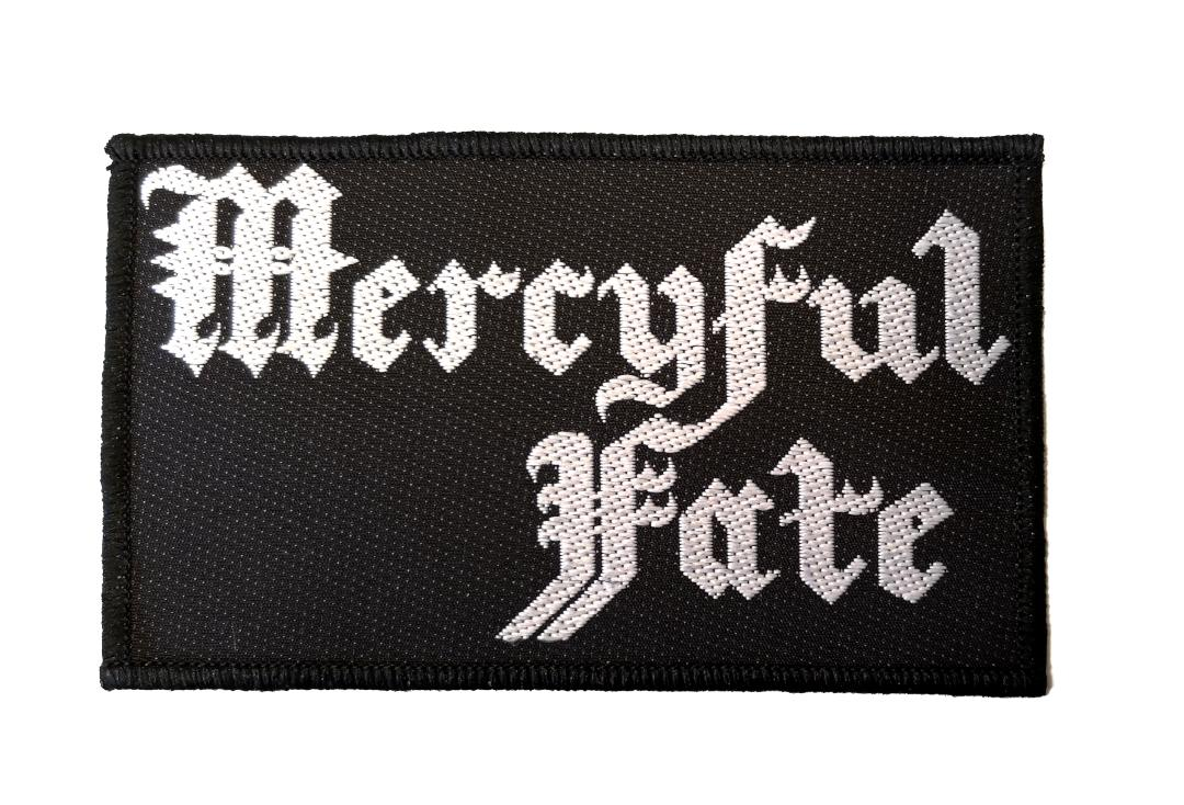 Official Band Merch |   Mercyful Fate - Logo Woven Patch