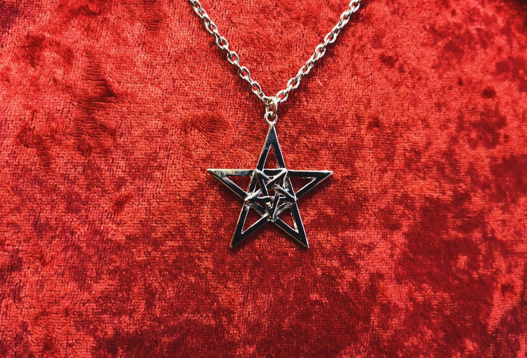 Void Clothing | Double Pentagram Pendant