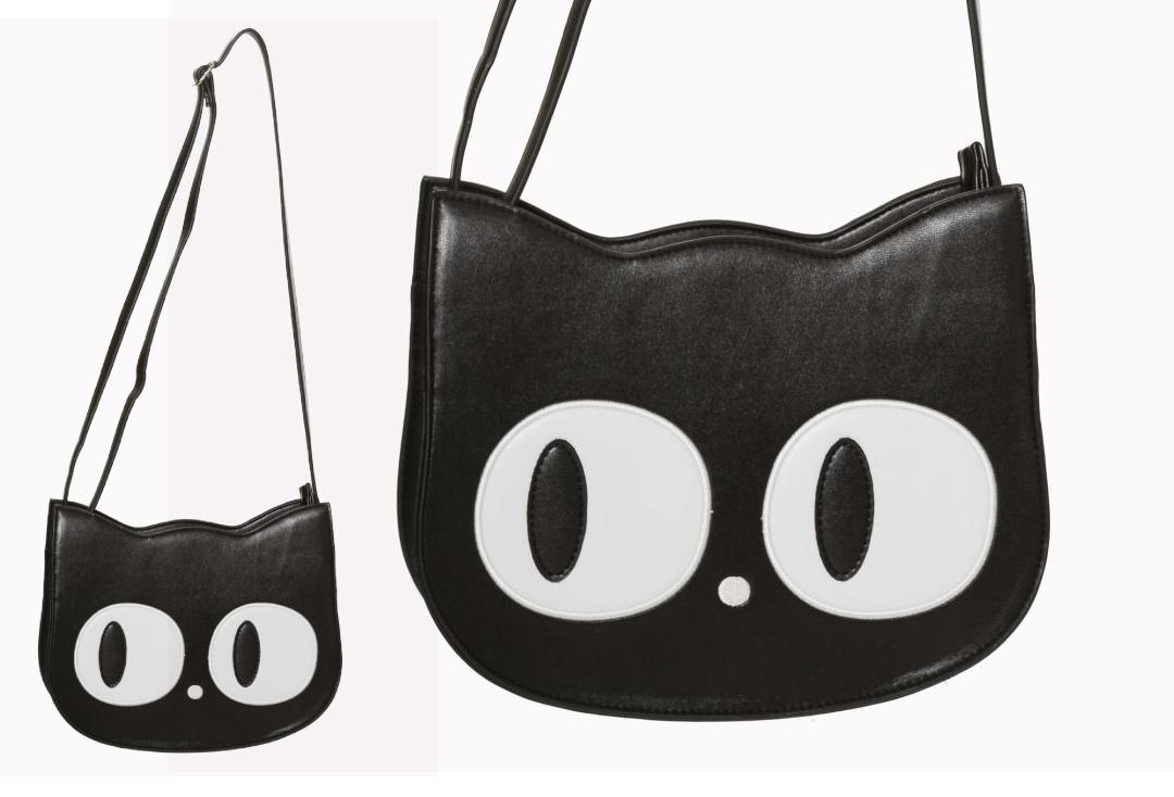 Banned Apparel | Addis Cat Eye Shoulder Bag - Front
