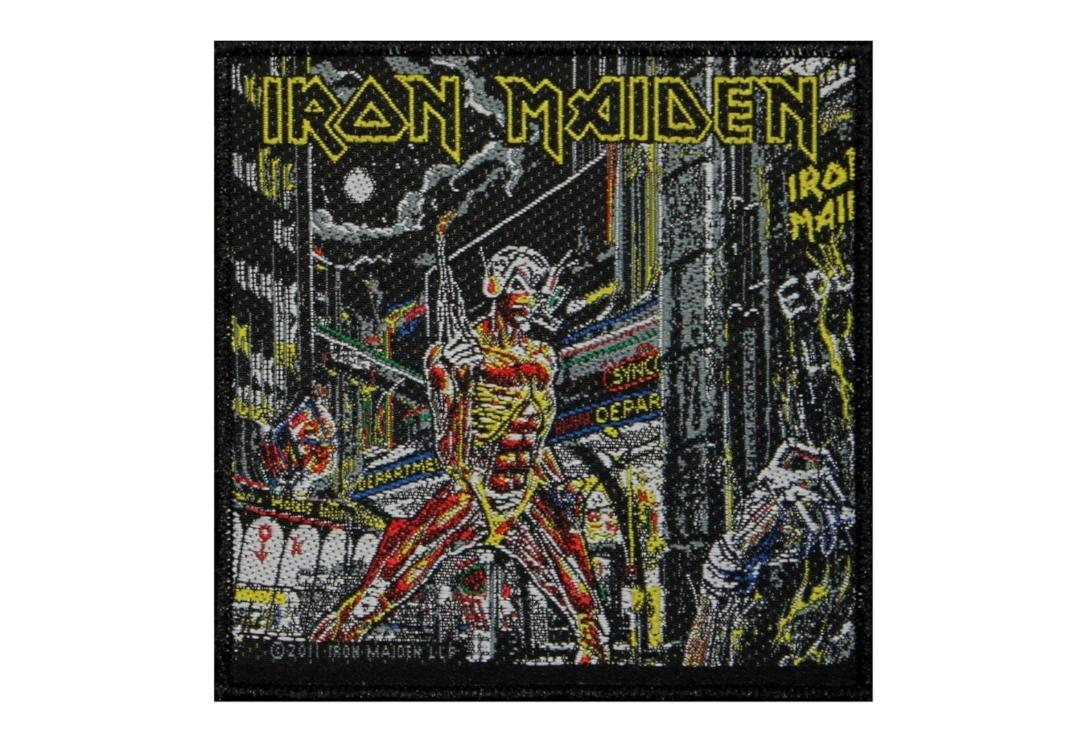 Official Band Merch |   Iron Maiden - Somewhere In Time Woven Patch
