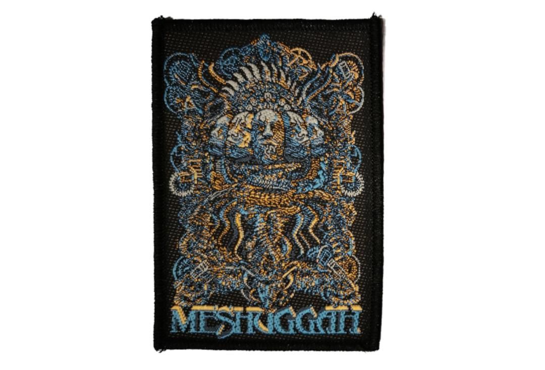 Official Band Merch | Meshuggah - 5 Faces Woven Patch