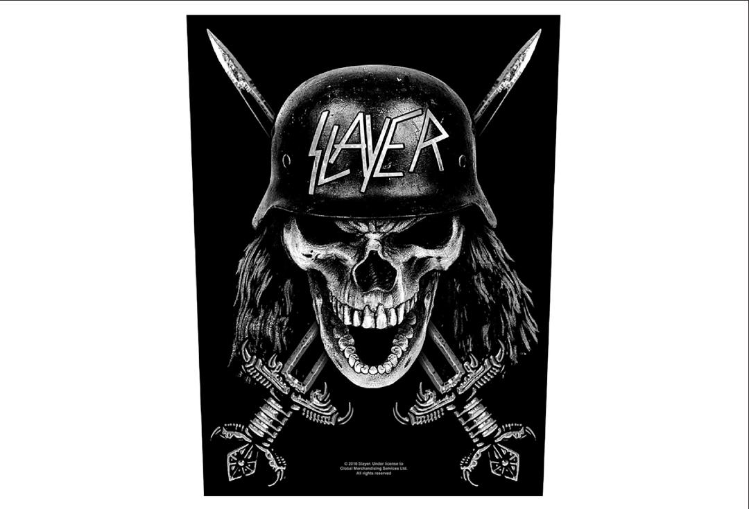 Official Band Merch | Slayer - Wehrmacht Printed Back Patch