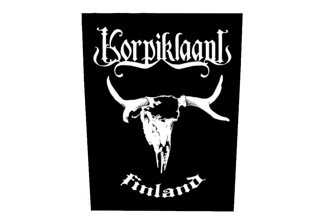 Official Band Merch | Korpiklaani - Finland Printed Back Patch