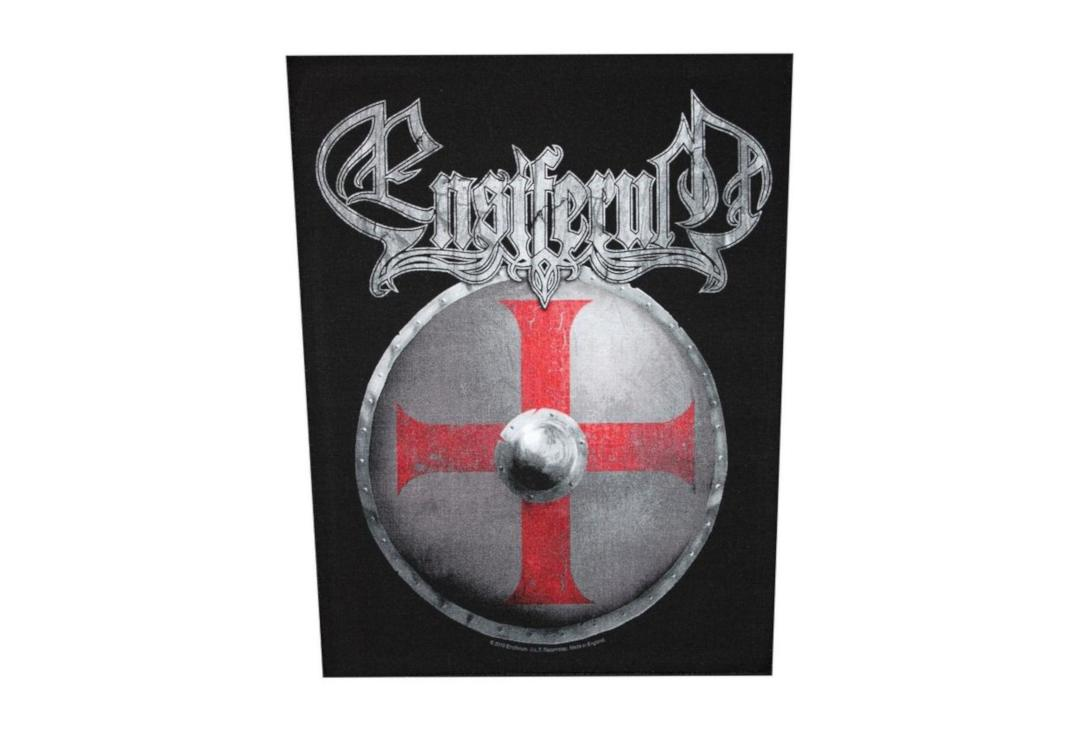 Official Band Merch | Ensiferum - Shield Printed Back Patch