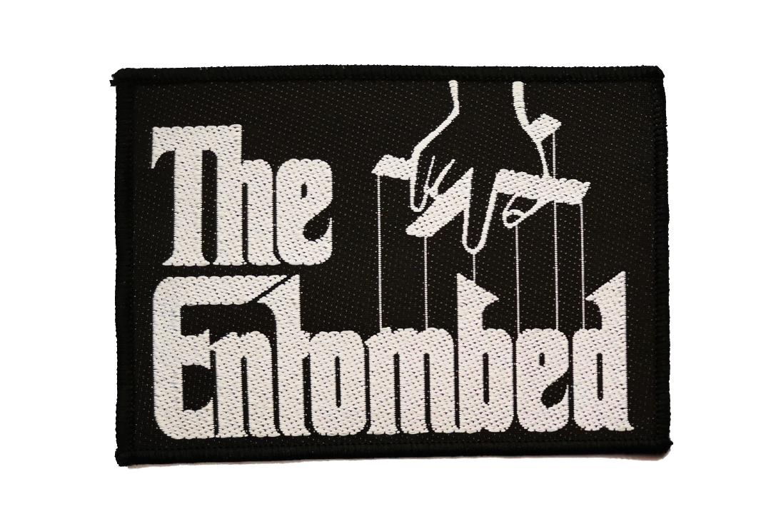 Official Band Merch | Entombed - The Godfather Logo Woven Patch