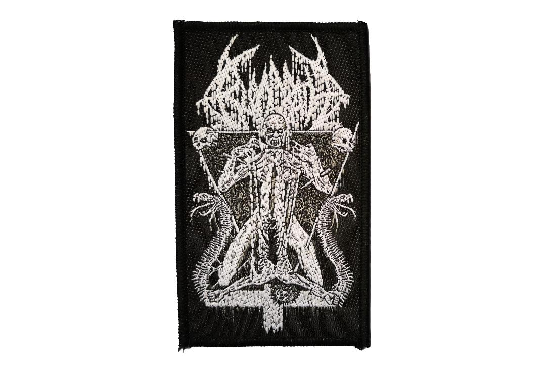 Official Band Merch | Bloodbath - Morbid Antichrist Woven Patch