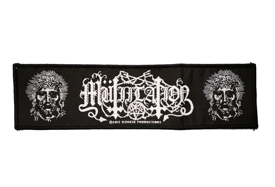 Official Band Merch | Mutilation - New False Prophet Woven Super Strip Patch