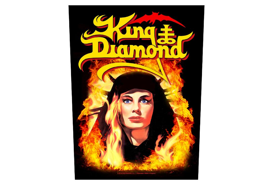 Official Band Merch | King Diamond - Fatal Portrait Printed Back Patch