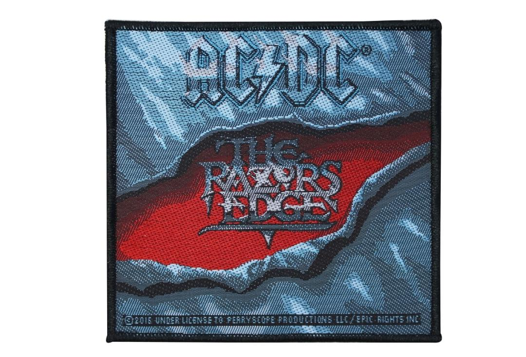Official Band Merch | AC/DC - The Razors Edge Woven Patch