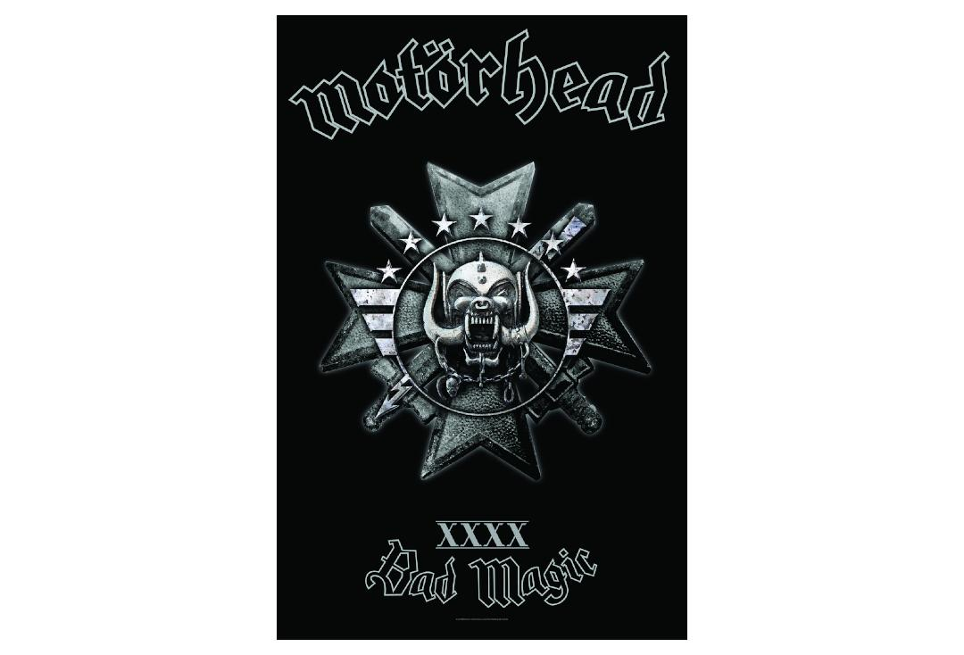 Official Band Merch | Motorhead - Bad Magic Printed Textile Poster