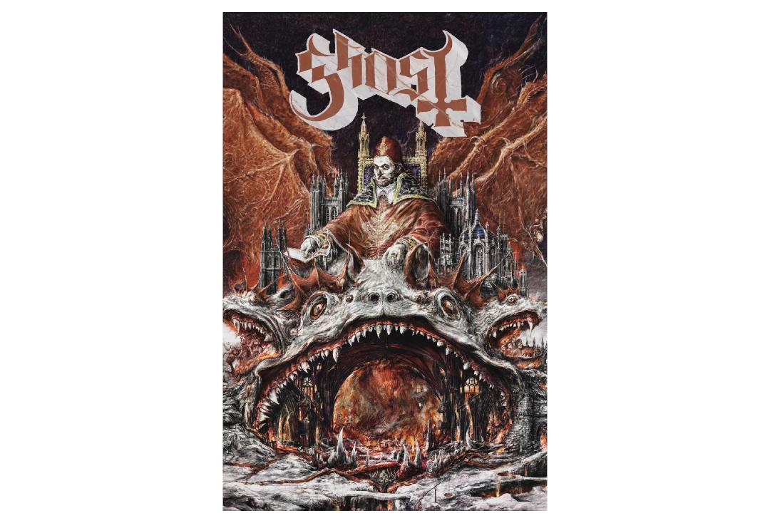 Official Band Merch | Ghost - Prequelle Printed Textile Poster