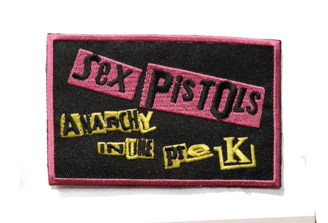 Official Band Merch | Sex Pistols - Anarchy In The Pre-UK Woven Patch