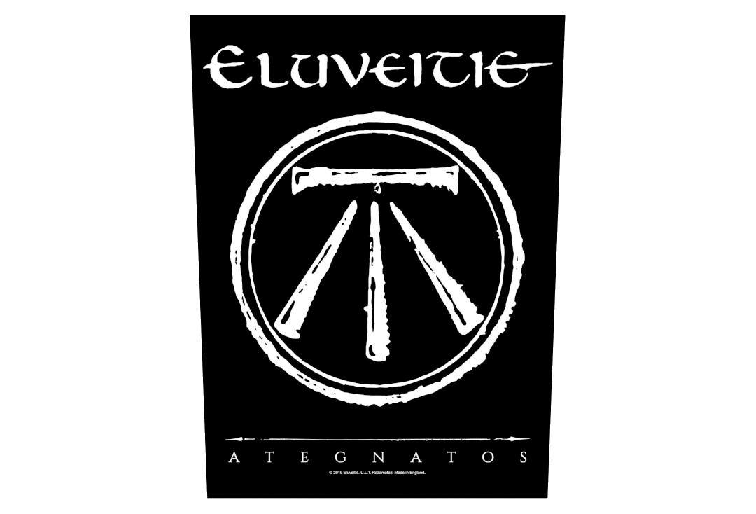 Official Band Merch | Eluveitie - Ategnatos Printed Back Patch