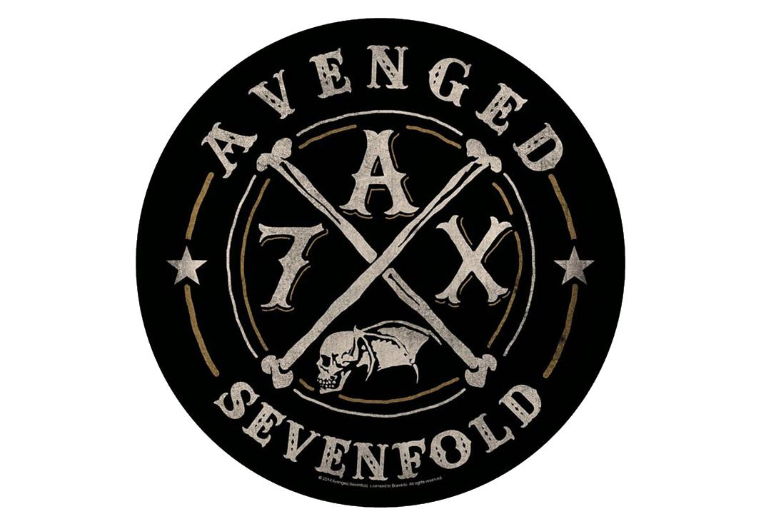 Official Band Merch | Avenged Sevenfold - AX7 Printed Back Patch