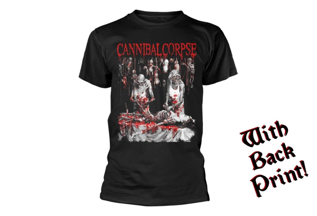 Official Band Merch | Cannibal Corpse - Butchered At Birth Men's Short Sleeve T-Shirt - Front