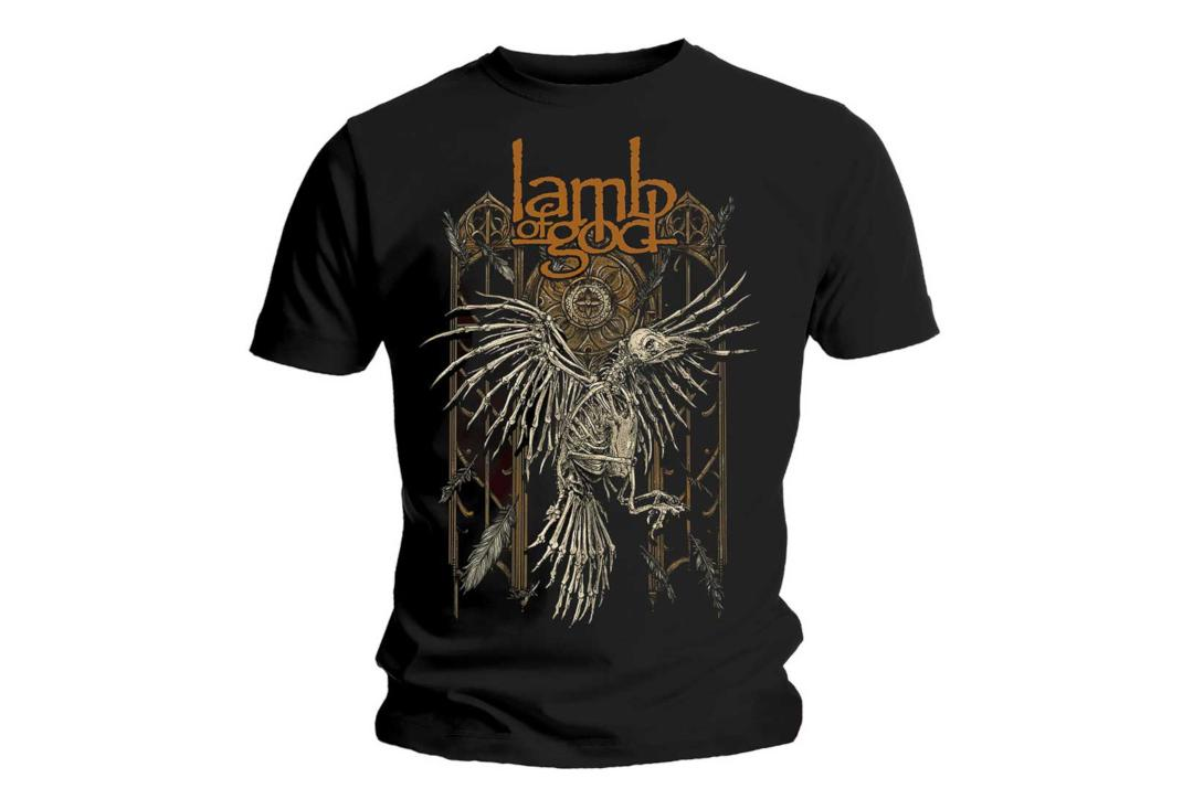 Official Band Merch | Lamb Of God - Crow Men's Short Sleeve T-Shirt