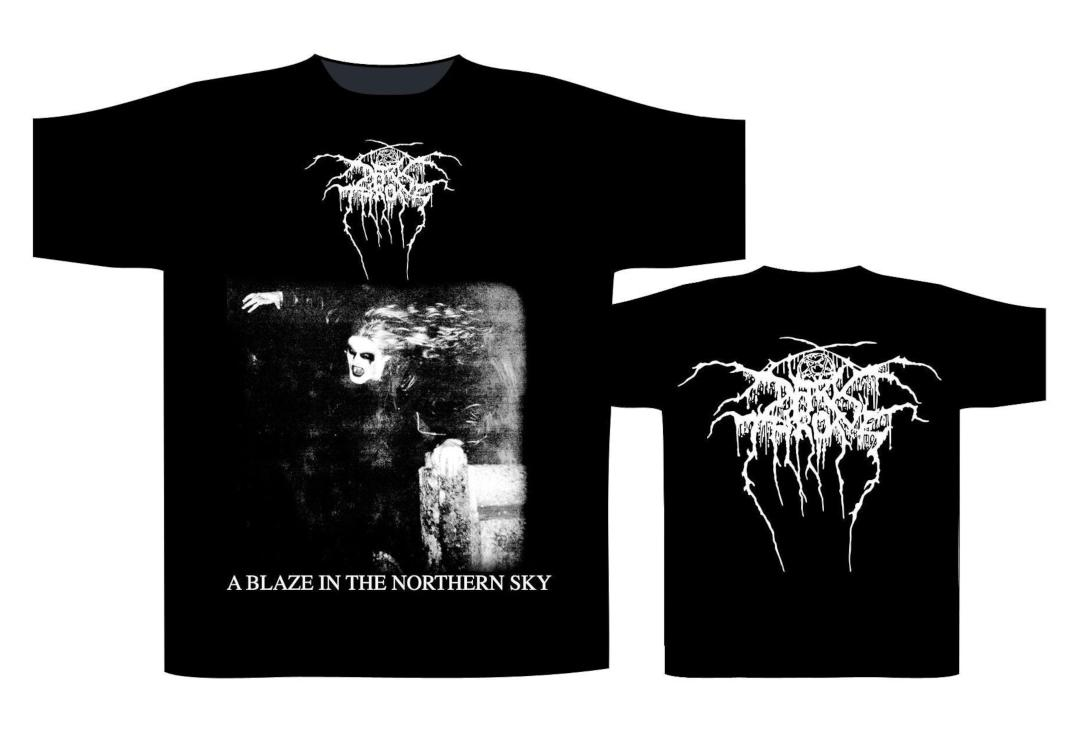 Official Band Merch | Darkthrone - A Blaze In The Northern Sky Men's Short Sleeve T-Shirt