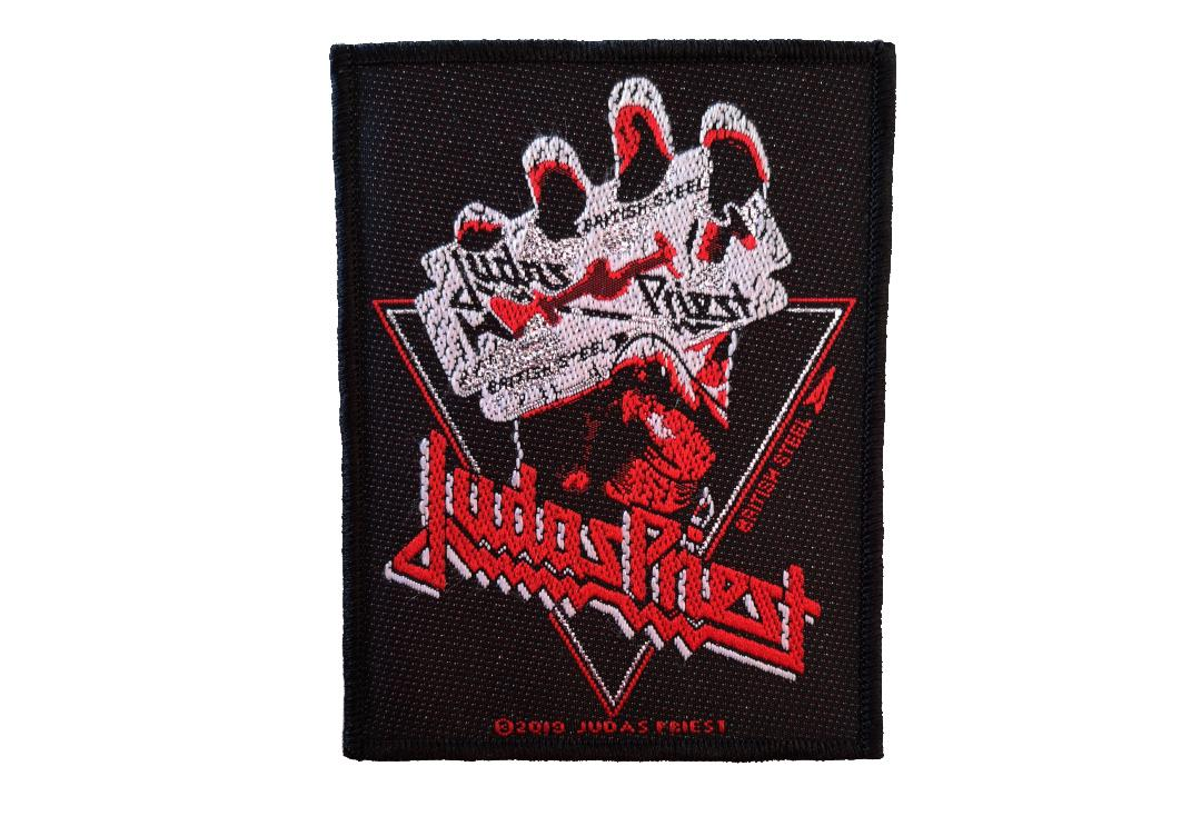 Official Band Merch | Judas Priest - Vintage British Steel Woven Patch