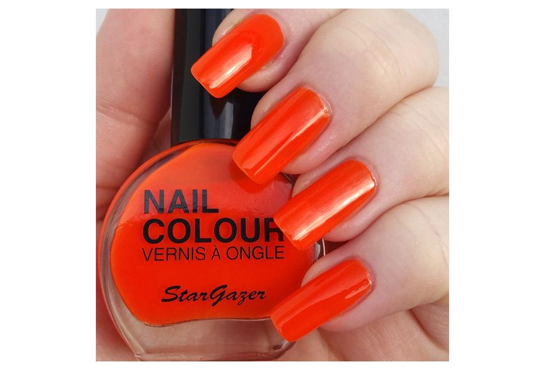 Stargazer | Orange Neon Nail Polish