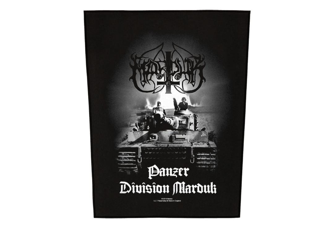 Official Band Merch | Marduk - Panzer Division Printed Back Patch