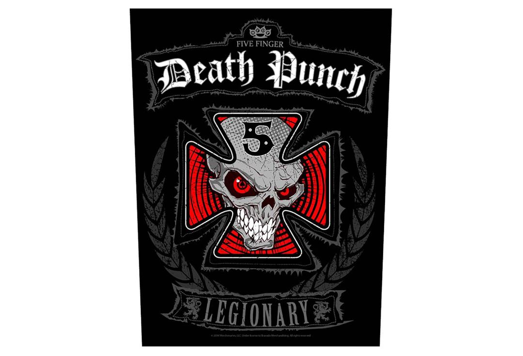 Official Band Merch | Five Finger Death Punch - Legionary Printed Back Patch