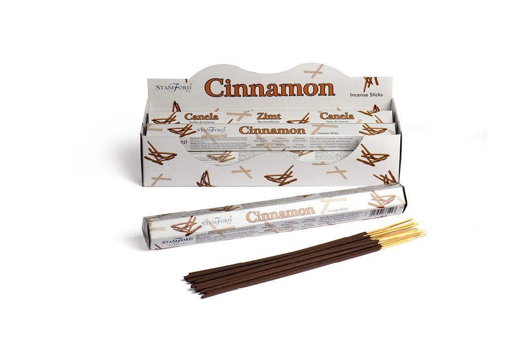 Stamford Inc. | Cinnamon Mythical White Hex Incense