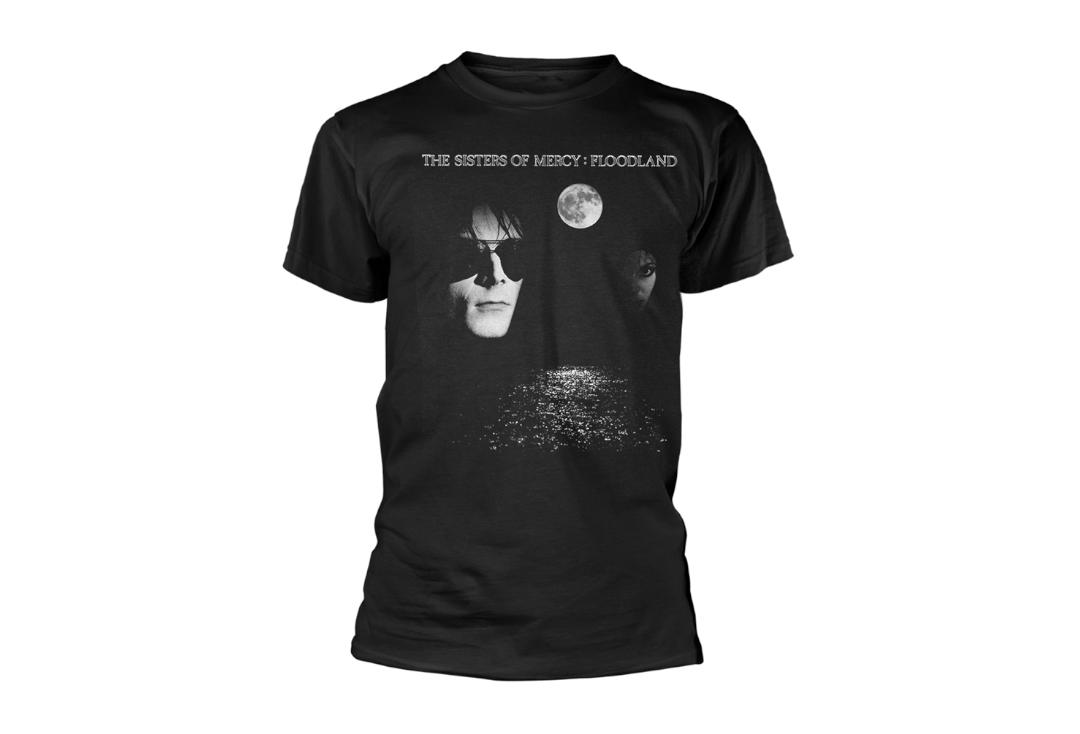 Official Band Merch | The Sisters Of Mercy - Floodland Men's Short Sleeve T-Shirt