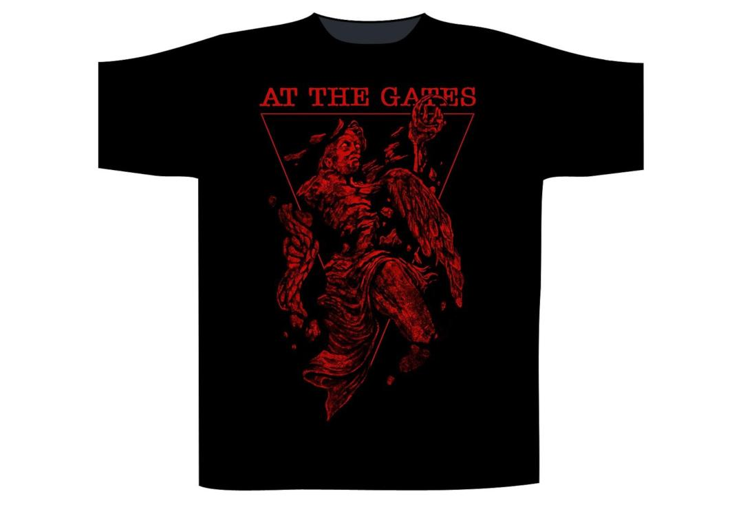 Official Band Merch | At The Gates - A Stare Bound In Stone Men's Short Sleeve T-Shirt