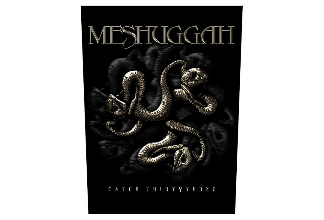 Official Band Merch | Meshuggah - Catch 33 Printed Back Patch