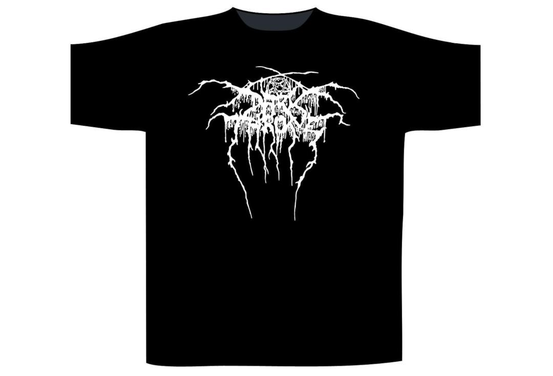 Official Band Merch | Darkthrone - Logo Official Men's Short Sleeve T-Shirt