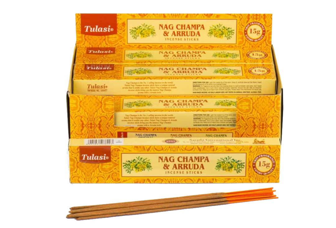 Tulasi | Arruda & Nag Champa Incense Sticks